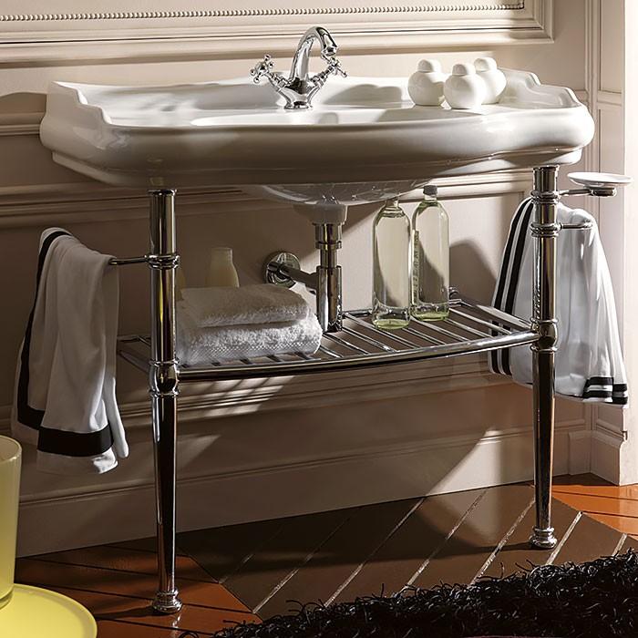 Полки под раковину в ванной